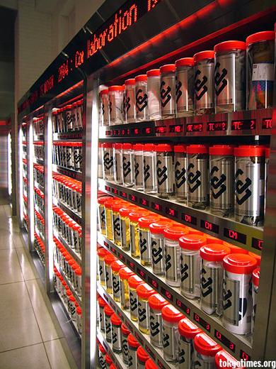 T-shirt vending machine