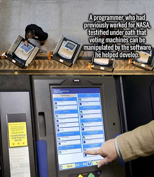 Image result for vote machine hacking