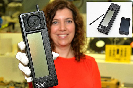 Image result for 1992 – The first smartphone, the IBM Simon, is introduced at COMDEX in Las Vegas, Nevada.