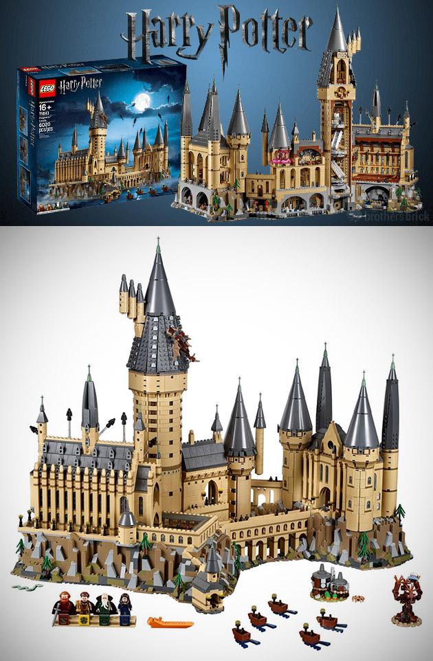 LEGO Harry Potter Hogwarts Castle (71043) Contains 6.020-Pieces. is Second Largest Set Ever - TechEBlog