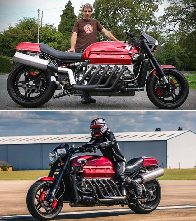 Tomahawk Dodge Viper Motorcycle