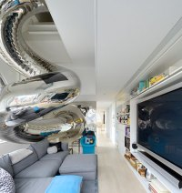 SkyHouse: The Crazy NYC Penthouse with an 80-Foot Slide in ...