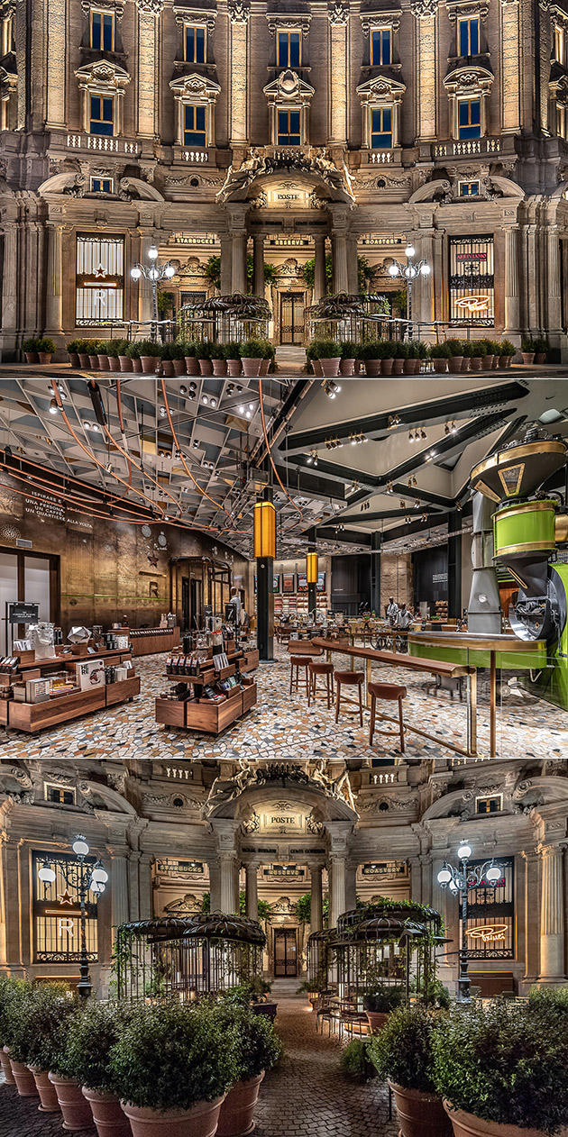 Starbucks Reserve Roastery Milan Is Companys First Store