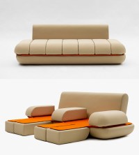 Awesome Touchpad-Controlled Transforming Sofa - TechEBlog