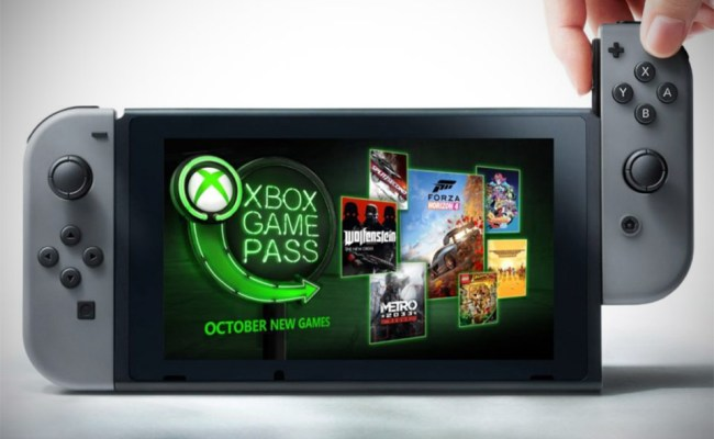 Microsoft S Xbox Game Pass Is Coming To The Nintendo