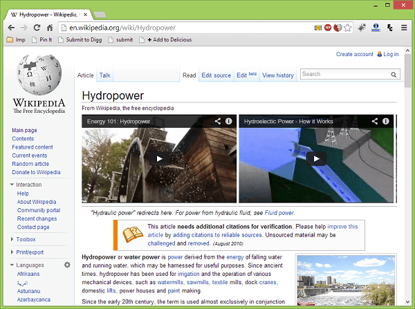WikiTubes