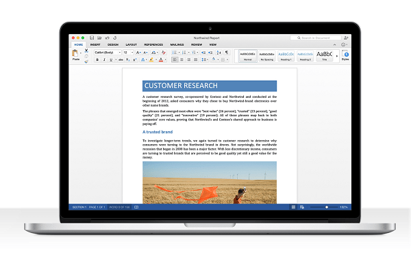 MS Office For Mac 2016 Beta