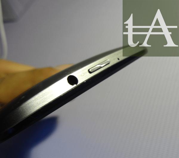 Asus Zenfone 2 ZE551ML Audio Port