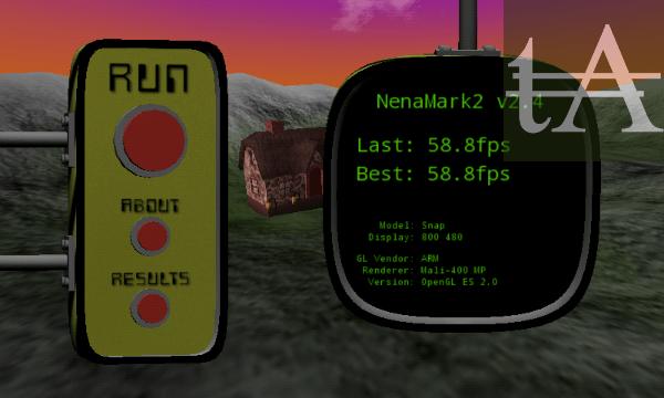 Fly-Snap-NeNaMark2 Benchmark Score
