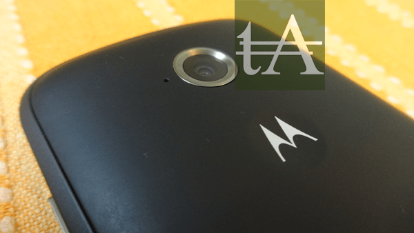 Motorola Moto E 2015 Rear Camera