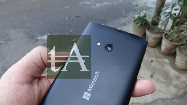 Microsoft Lumia 540 Camera
