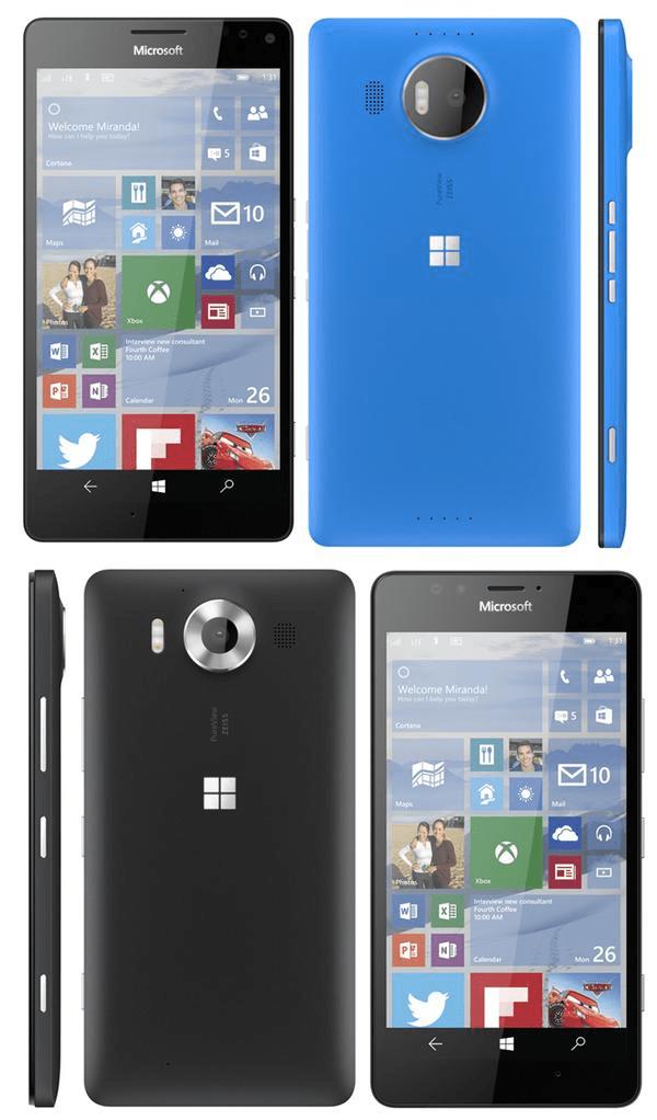 Microsoft Lumia 950 Lumia 950XL Leak