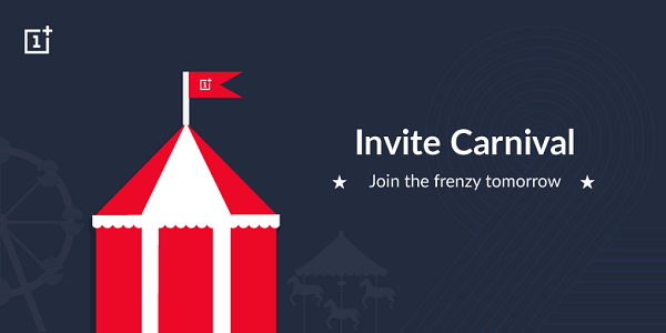 OnePlus Two Invite Carnival