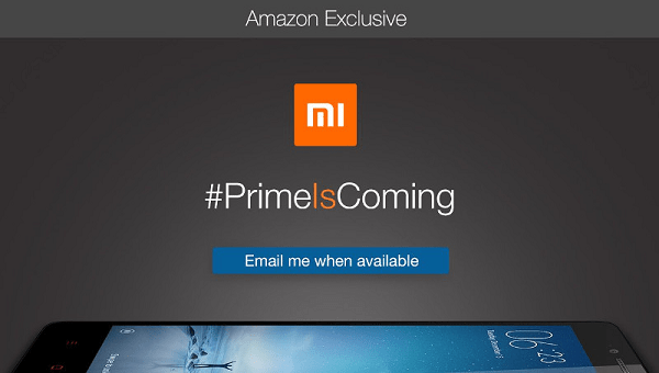 Xiaomi Prime Is Coming