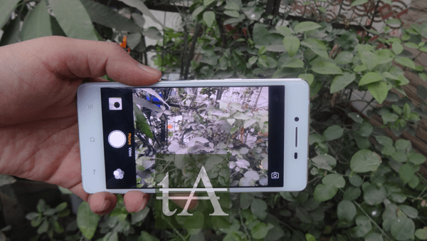 Oppo R7 Lite Camera UI
