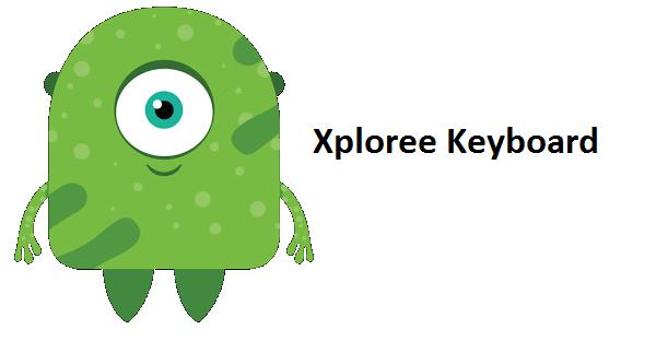 xploree keyboard
