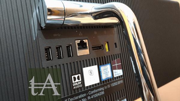 Lenovo Thinkcentre X1 Ports