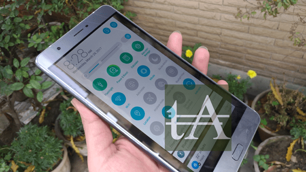 Asus Zenfone 3 Ultra UI