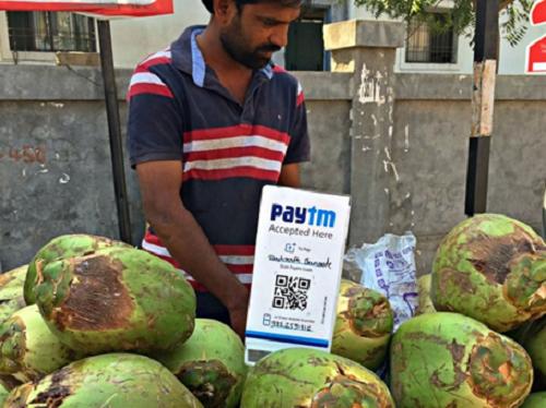 PayTM QR Small Shops