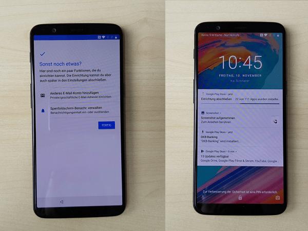 OnePlus 5T Box Leak Compared