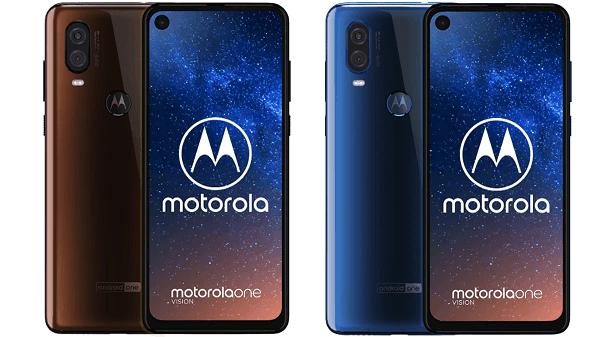 Motorola One Vision Leaked Render