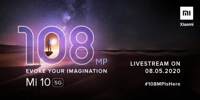 Xiaomi Mi 10 5G Tweet
