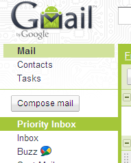 Gmail New Android Theme