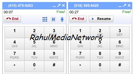 Gmail Multiple Calls