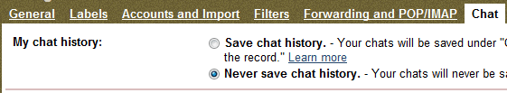 Never_Save_Chat_Gmail