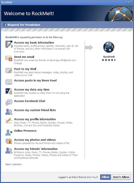 RockMelt_FaceBook_Requesting_Permission