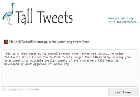 TallTweet