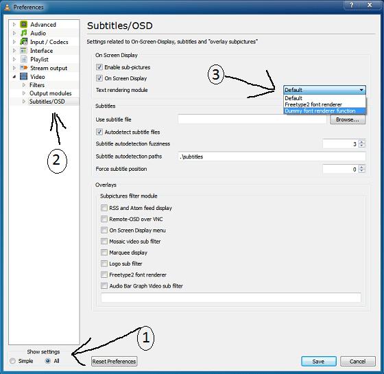 VLC_Building_Font_Cache_Setting