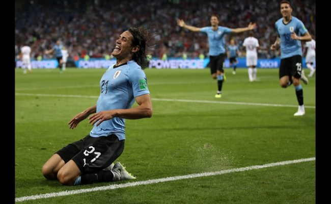 2018 World Cup On Fox61 Cavani Scores Twice Uruguay