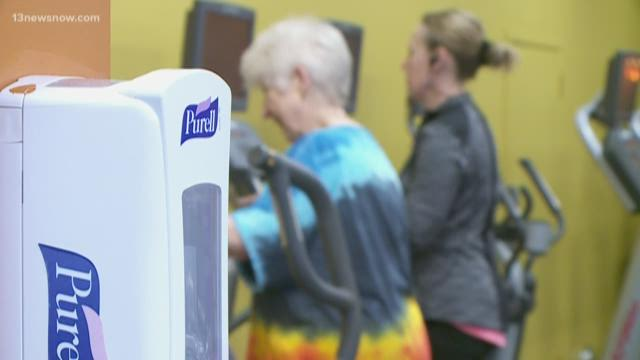 Workout facilities in Hampton Roads make changes because of ...