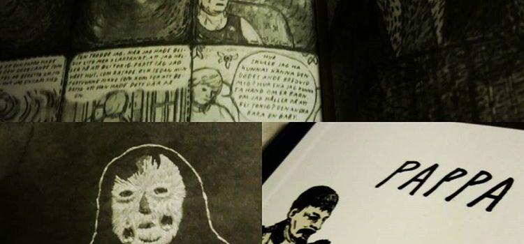 Konstnärlig serieroman om sorg