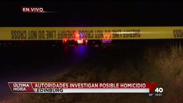 [TLMD - McAllen] Autoridades investigan posible doble homicidio