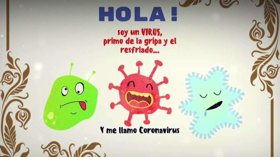 Imagenes Sobre El Corona Virus Para Ninos