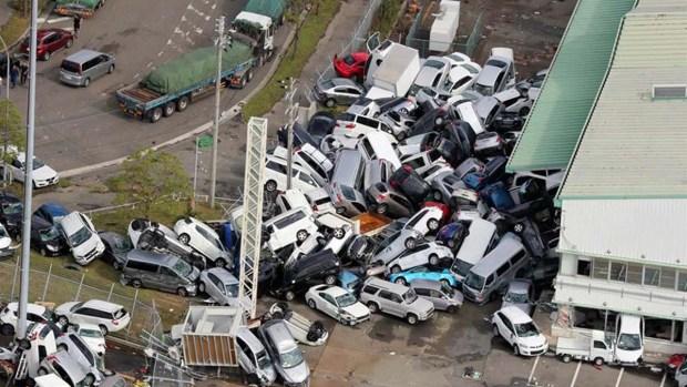 Death and destruction: typhoon devastates everything in Japan