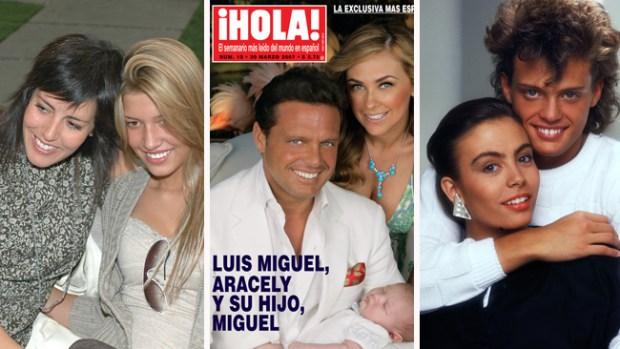 Las mujeres que han marcado la vida de Luis Miguel