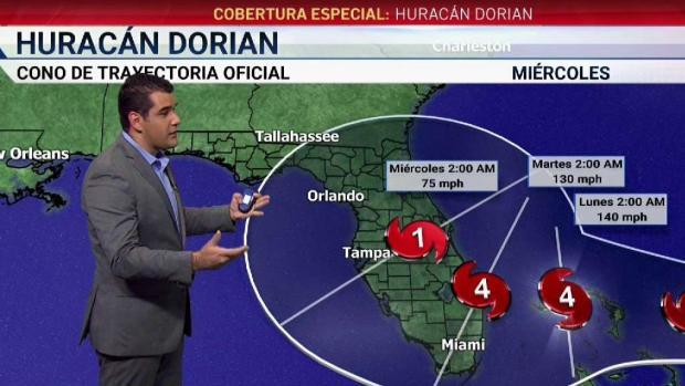 [TLMD - MIA] Dorian es ya un huracán Categoría 2