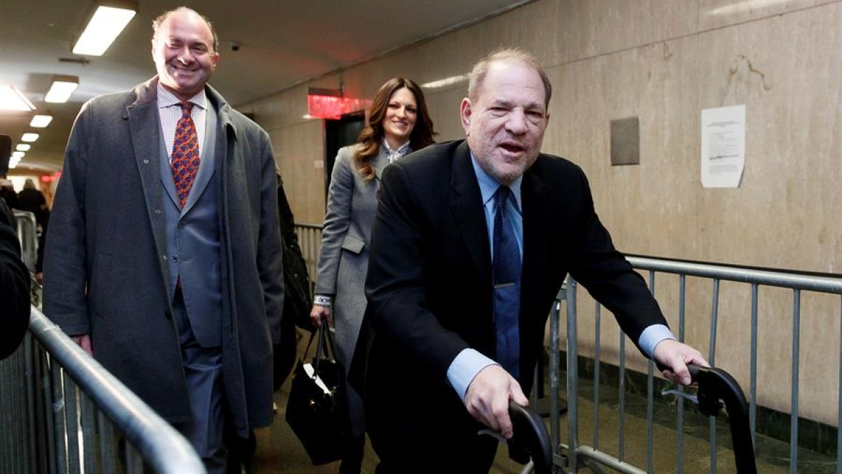 Harvey Weinstein appeals 23-year prison sentence for rape