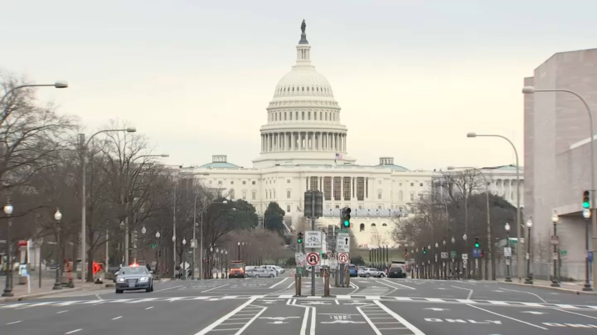 Due to external threat: they close the Federal Capitol preventively, report a gunshot wound