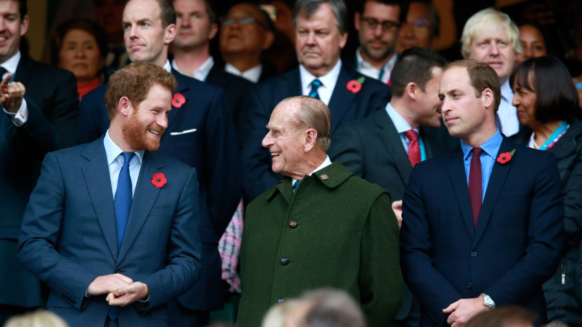 Princes William and Harry remember their grandfather, Philip, in separate statements
