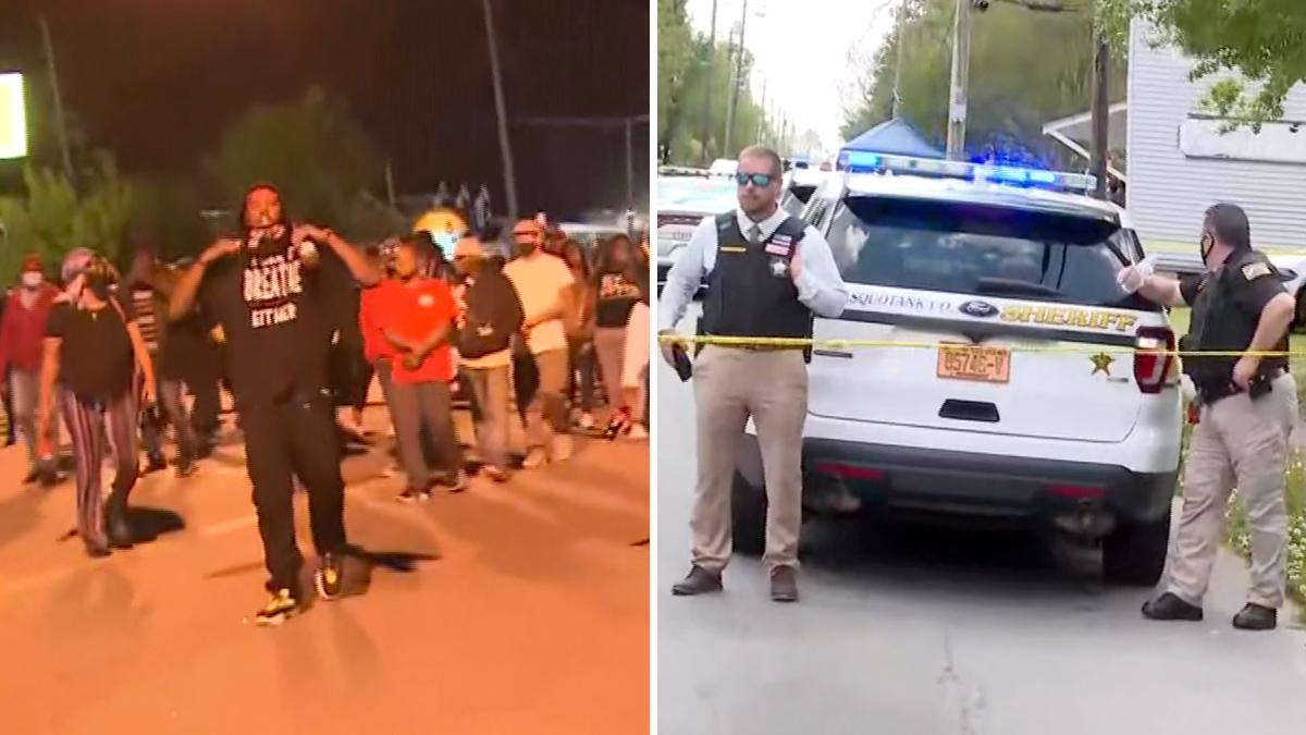 North Carolina: protests erupt after black man killed by police