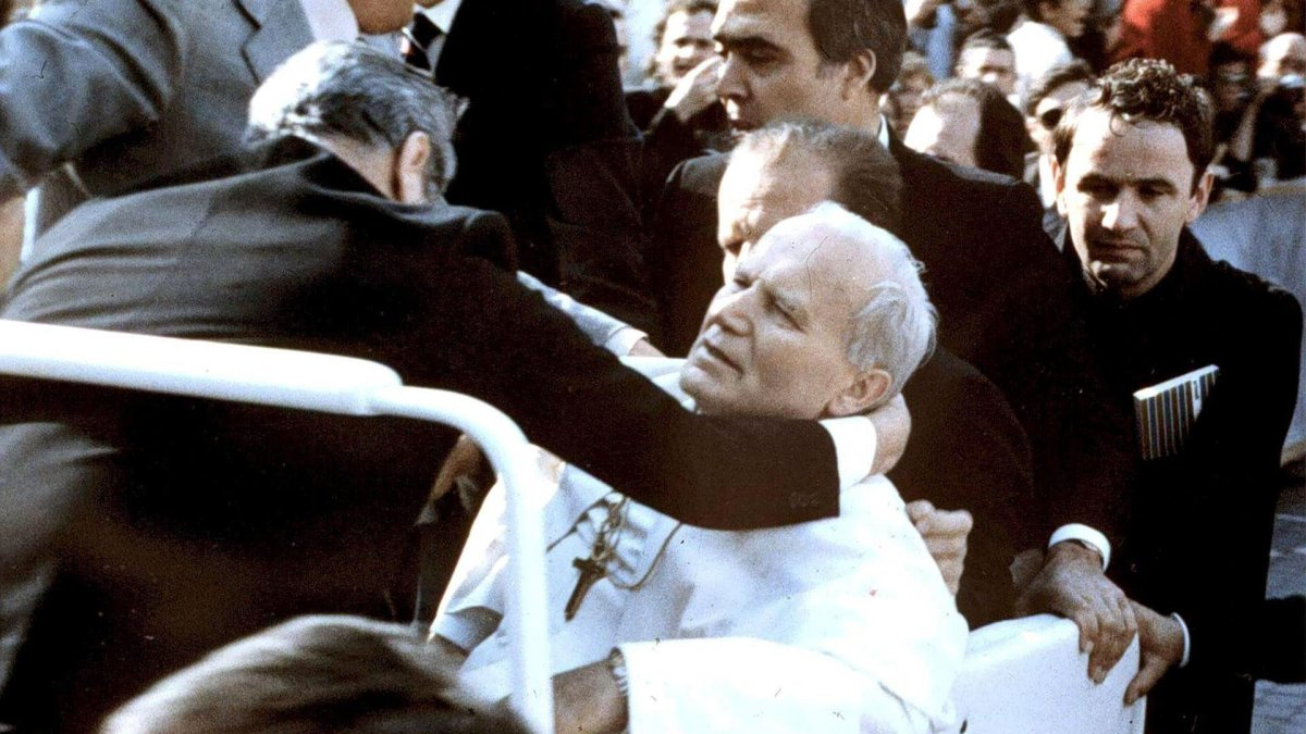 40 years after the attack: the zigzagging bullet that almost killed Pope John Paul II