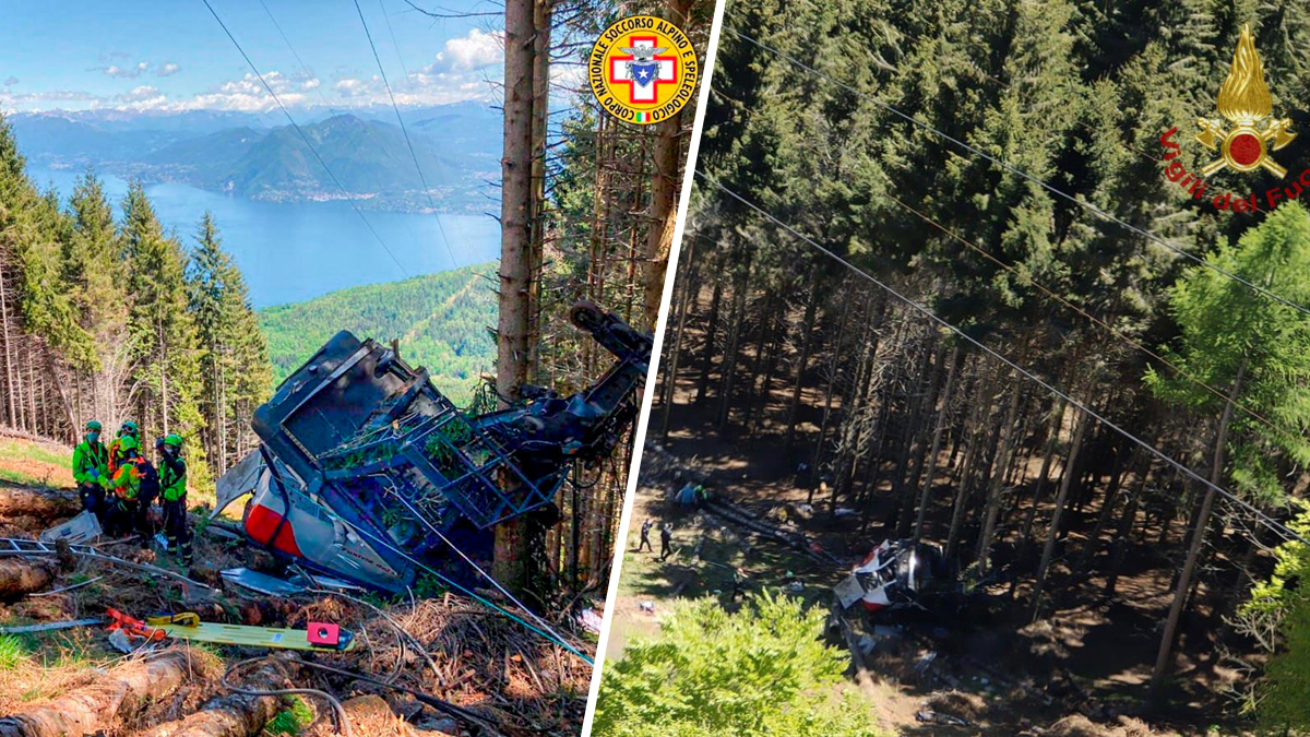 Deadly tragedy in Italy: Cable car cabin falls during Mountain ride