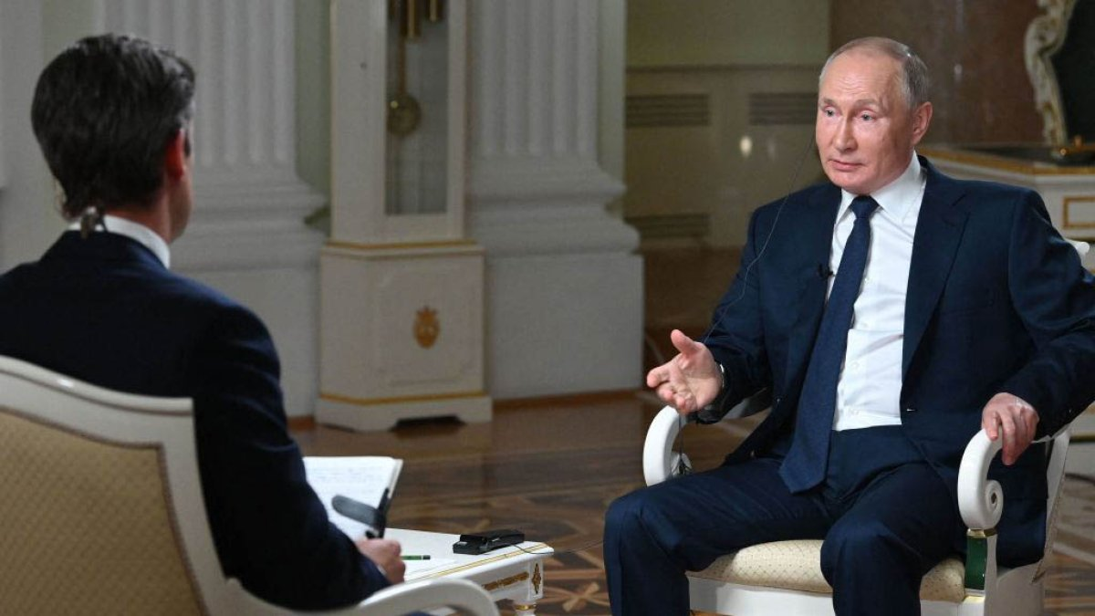 Putin hints that those arrested for riot on Capitol Hill are