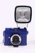 Lomography - Mini appareil photo Diana avec flash - Bleu