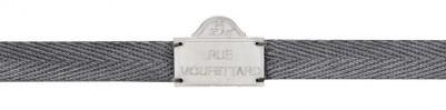 Bracelet gris Rue Mouffetard