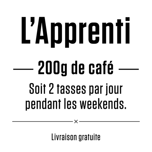 apprenti le coffee guy